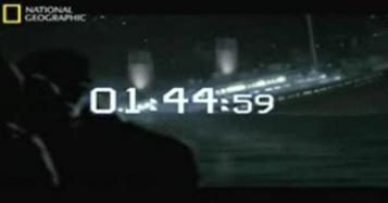 """Une heure affichée """"à la seconde près"""", ça fait sérieux. Quand on se trompe de plus d'une demi-heure, beaucoup moins. Illustration parfaite du manque de sérieux des documentaires qui se donnent un air rigoureux."""