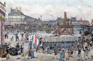L'exécution de Robespierre et de ses partisans a été l'occasion de la plus grande fournée de guillotinés de la Terreur. Il est peu probable que les têtes aient été