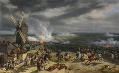 La bataille de Valmy ne fut certainement pas le combat épique et ténébreux peint ici par Horace Vernet... mais ce n'est pas non plus le coup monté relaté par Guillemin.