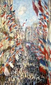 En 1878 déjà, une fête nationale avait été organisée le 30 juin et immortalisée par Monet.