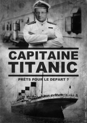 Avis aux caricaturistes : représenter un politicien en capitaine du Titanic, c'est usé jusqu'à la corde...