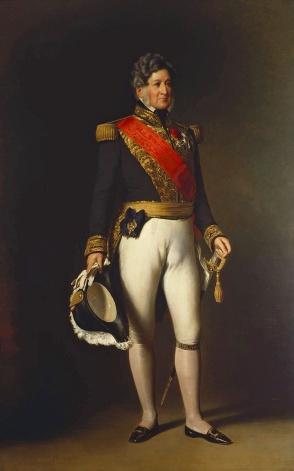 Louis-Philippe, roi des Français, peint ici en 1845, est le seul souverain de la monarchie de Juillet.