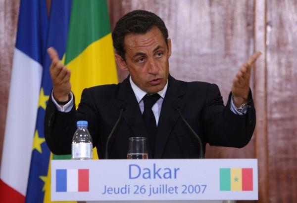 """Le discours de Dakar reste la trace la plus (tristement) célèbre de la """"pensée Sarkozy"""" sur le rapport à la colonisation et à l'Afrique."""