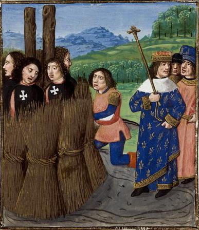 """Philippe IV, dit """"Le Bel"""", sortant de l'Euro. Ou brûlant les Templiers, je sais plus."""