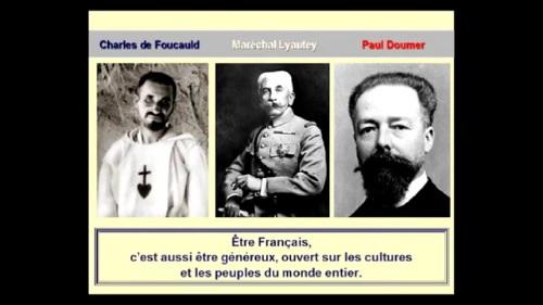 Quand l'empire est colonial, ça va, c'est de la générosité. Oui, cette image vient de sa conférence, et non d'un meeting de François Fillon.