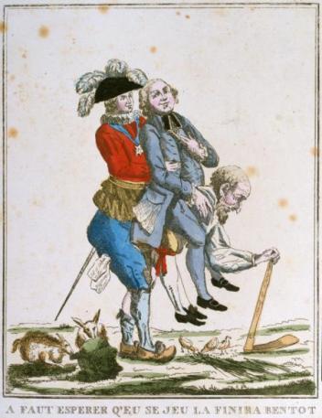 Ces caricatures représentant les trois ordres et leur rapport inégal ont connu de nombreuses variantes et sont célèbres. La vérité qu'elles représentent reste cependant partielle.