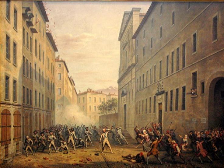La Journée des Tuiles, peinte ici en 1889 par Alexandre Debelle, a par la suite été célébrée comme une insurrection