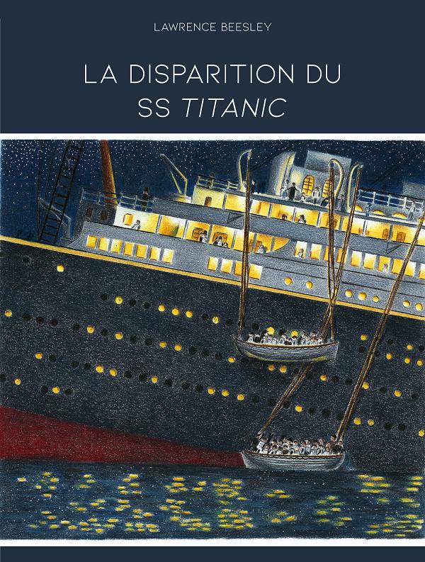 Couverture de La disparition du SS Titanic