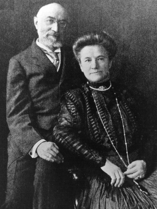 Portrait d'Ida et Isidor Straus