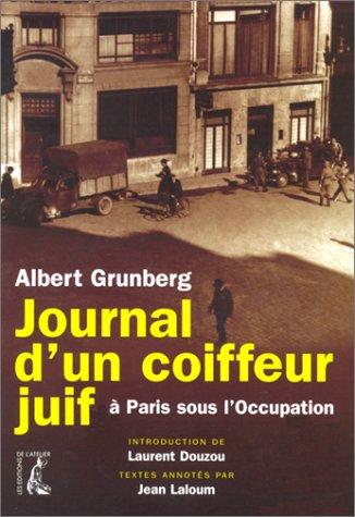 Couverture du journal de Grunberg