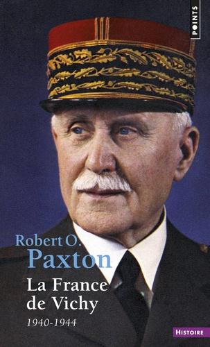 Couverture de la France de Vichy de Paxton, illustrée d'un portrait de Pétain