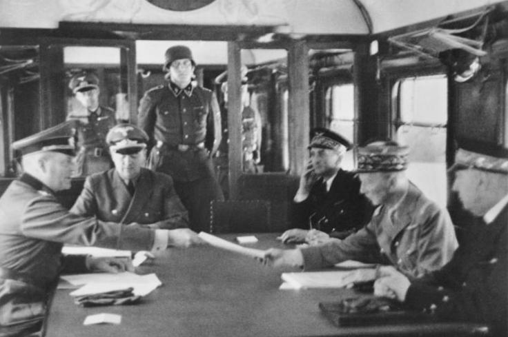 Signature de l'armistice